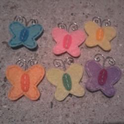 papillons antennes métal