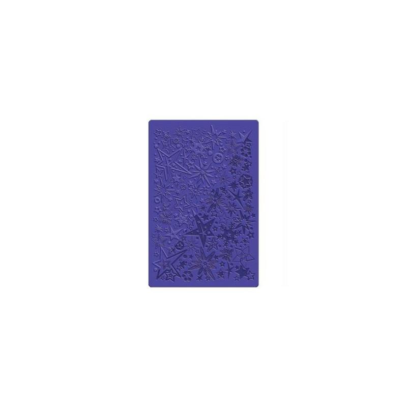 Feuille de texture fimo étoile
