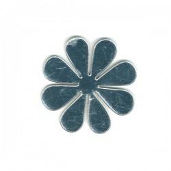 Miroir fleur ronde