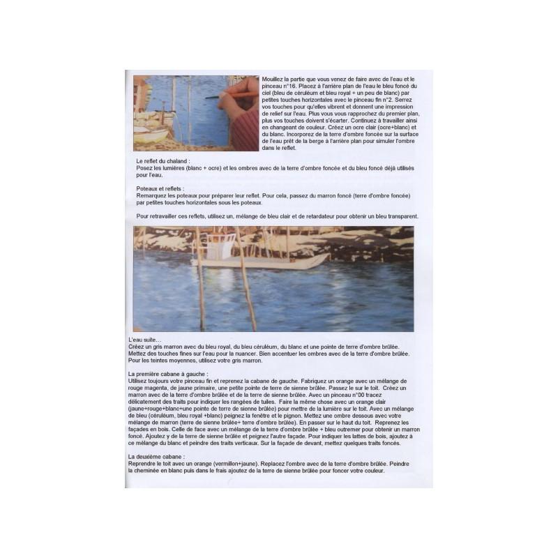 Port ostréicole à l'acrylique