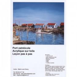 Cours d'acrylique port ostréicole