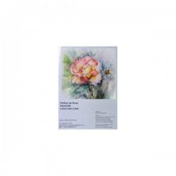 cours d'aquarelle parfum de rose