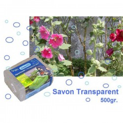 savon écologique transparent 500gr.