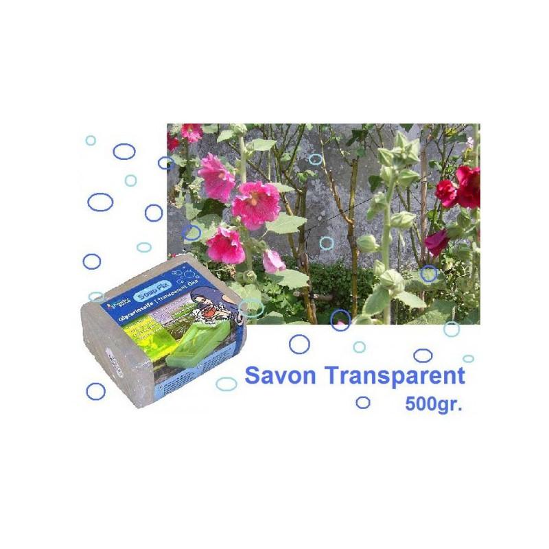 savon écologique transparent 500gr.
