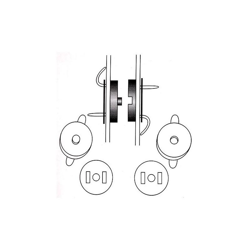 Fermetures magnétiques