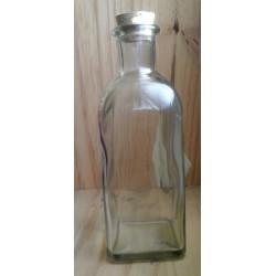 Flacon bouteille en verre