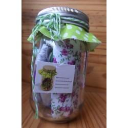 Kit de couture Bocal violet