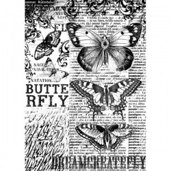 Papier de riz Papillon