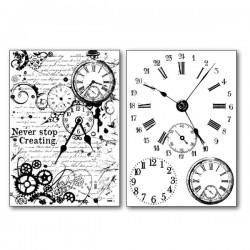 Papier transfert horloges