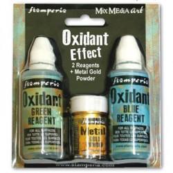Oxydant effet bleu et vert