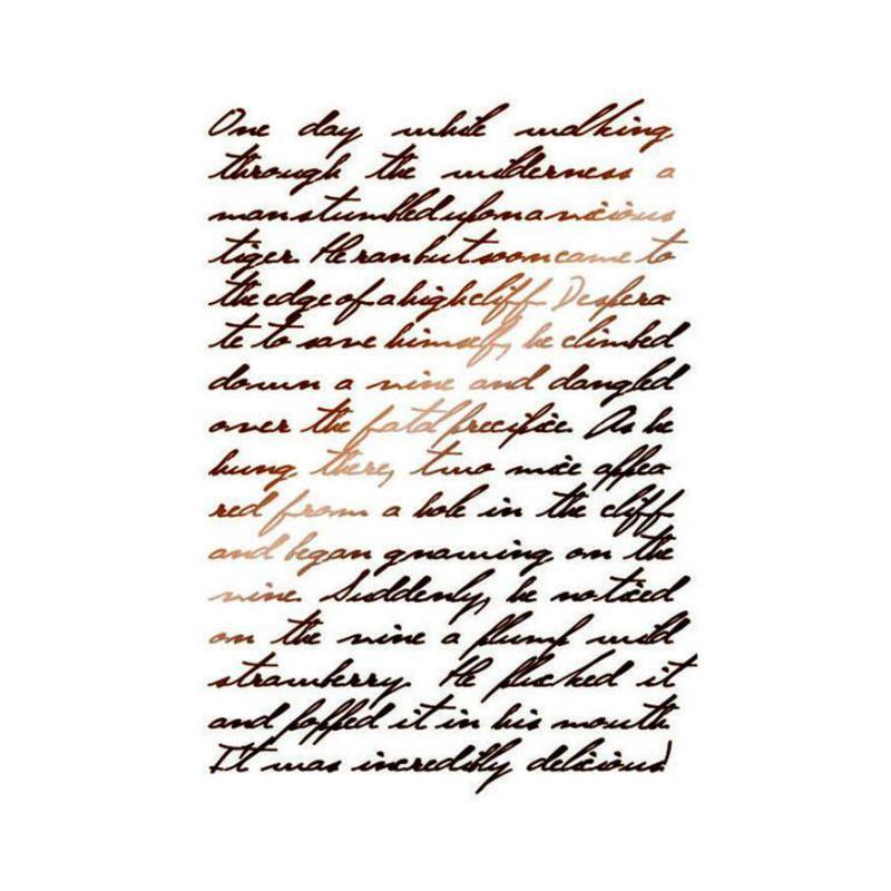 Pochoir Calligraphie